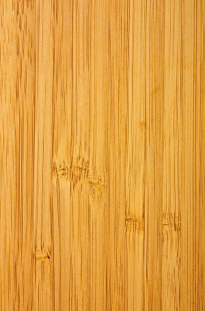 Medium dark colored bamboo flooring sample