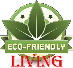 Eco living illustration emblem
