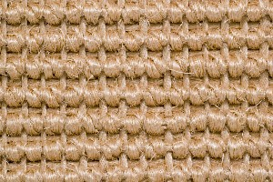 Sisal carpeting design closeup